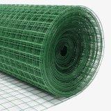녹색 PVC에 의하여 입히는 용접된 철망사 롤