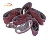 Les courroies de ponçage de plancher/courroies abrasives/Céramique abrasifs/étroite ceinture
