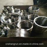 O aço de carbono do aço inoxidável do ANSI forjou a flange lisa da flange de placa para os encaixes de tubulação