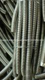 Ss304 vlechtte het Roestvrij staal de Assemblage van de Slang van het Flexibele Metaal