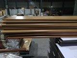 De houten MDF van de Film van pvc van de Kleur Deuren van de Garderobe & de Deuren van het Kabinet