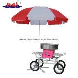 Chariot et parapluie professionnels/commerciaux de machine de soie de sucrerie de coton