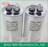 Алюминиевый конденсатор мотора AC начиная с овальной формой