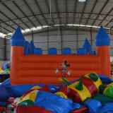 Im Freien haltbarer Clown, der aufblasbaren Prahler für Kinder springt