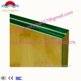 стекло 10.38mm ясным профессиональным Китай закаленное изготовлением прокатанное для здания