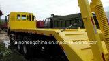 トンのSinotruk 20のHOWO 10の車輪の平面トラックZz1257s4341W