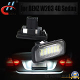 2X 18LED 3528 SMD Error Free License Plate Light (Benz W203 4D 01-07のために)