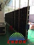 높은 광도를 가진 옥외 P6.25mm 휴대용 임대료 발광 다이오드 표시 스크린