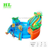 Do equipamento gigante adulto do parque do Aqua do campo de jogos dos miúdos parque inflável da água