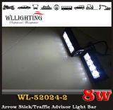 Lampeggiante d'avvertimento dell'automobile LED dell'indicatore luminoso dello stroboscopio della polizia LED per l'azzurro rosso del faro anteriore della griglia LED