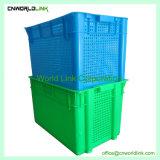 Los lados de malla de almacenamiento apilable de contenedor de comida de legumbres