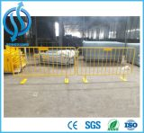 Glissières de sécurité en métal - barrière galvanisée de contrôle de foule