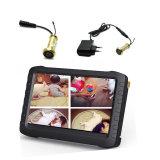 5.8g de draadloze Mini Verborgen Camera van kabeltelevisie van de Veiligheid van de Deur met LCD het Scherm (24chs, 0.008lux, 480TVL, 90 meningshoek)