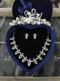 Bridal ожерелье серьги кроны вспомогательного оборудования венчания