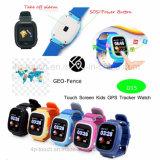 Цветные TFT с сенсорным экраном Smart GPS Tracker просмотр для детей (D15)