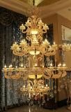 Iluminación interior de la decoración europea de Phine con la aleación del cinc, lámpara pendiente