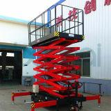 la strumentazione di sollevamento 10m/funzionamento aereo automotore Scissor l'elevatore (CA)