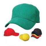 Gebürsteter Twill-Baumwollbaseballmütze-/Golf-Schutzkappen-/Embroidery-Hut