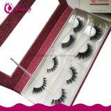 Настраиваемые логотип торговой марки норки ложных Eyelash косметический упаковке