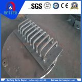 Séparateur électromagnétique de minerai de fer de la série Rcde-10 de forte intensité
