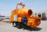 Bomba concreta del acoplado profesional del generador con el tambor de mezcla del mezclador 450L