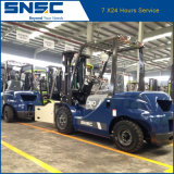 Forklift Diesel 3ton da qualidade de Snsc com braçadeira macia
