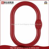 Ligação/anel forjados de equipamento do estilingue da forma da pera