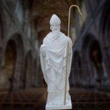 지팡이 종교적인 특성 대리석 상으로, 종교적인 동상 조각품
