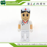 mecanismo impulsor del flash del USB del palillo del doctor Shaped USB de la capacidad plena 1GB-64GB