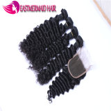 Trama cambojana do cabelo do cabelo humano o mais barato do Virgin profundamente