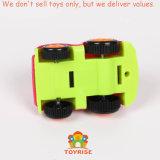 小型ダンプのおもちゃは子供の幼児の男の子のためにセットした、引き押行くパワープレー(必要とされる電池無し)行く摩擦