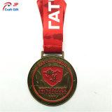 スポーツのためのカスタマイズされた旧式な金属メダル