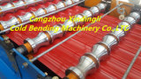 Color Steel Metal Glazed Building Strips Roll Forming Machine