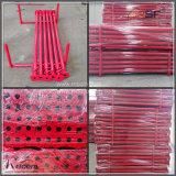 الصين إمداد تموين قابل للتعديل سقالة جزء فولاذ دعائم لأنّ بناية