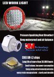 el trabajo de 160W 4D LED enciende la viga de punto campo a través del barco ligero UTV del carro del alimentador de la lámpara del excavador ATV del proyector del coche de la carretilla elevadora del CREE