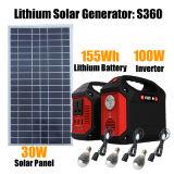 gerador de potência solar solar do sistema de iluminação do inversor 100W