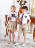 Kundenspezifischen Form-stilvollen Primärschule-Jungen und Uniform S53103 des Mädchens