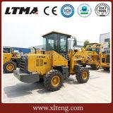 Ltma kleine Rad-Ladevorrichtung 1 Tonnen-Vorderseite-Ladevorrichtungs-Preis