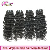 Usine Prix Curly Vague Natural Color 100% Virgin péruvienne Cheveux