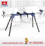 Sierra ingletadora soporte universal de la estación de trabajo banco del vector de soporte Herramientas de trabajo de madera (YH-MS029G)