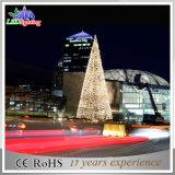 Neue Atrractive im Freien künstliche riesige Weihnachtsbäume mit LED-Lichtern
