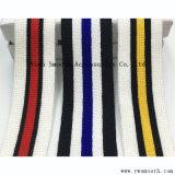 Katoenen van de Riemen van de Manier van het kledingstuk Brede Streep Drie van de Kleur het Lint van de Singelband