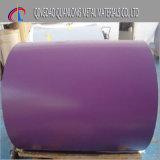 PPGL cubierto color prepintó la bobina de acero de Aluzinc