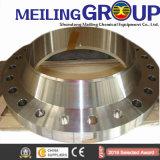 鍛造材のリングか造られた鋼鉄リング