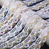 Более широкий выбор цвета мигает Non-Elastic кружевом в нижнее белье аксессуары