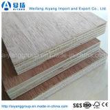 madera contrachapada comercial laminada chapa natural de 4X8 Okoume