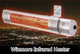 Calentador infrarrojo más cómodo y más seguro que el calentador de gas