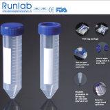 FDA und Cer genehmigten Konisch-Unterseite 50ml Zentrifuge-Gefäße mit gedruckter Staffelung im Schalen-Beutel-Satz