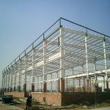 Estrutura de aço com estrutura de aparência agradável
