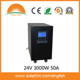 (T-24305) 24V3000W50uma onda senoidal PV Inversor & Controller
